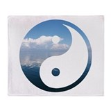 Funny Ohm Throw Blanket