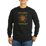 Linux On The Web Long Sleeve Dark T-Shirt