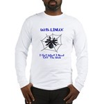 Linux On The Web Long Sleeve T-Shirt