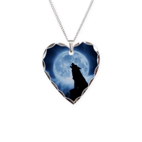 Cries of the Night Necklace Heart Charm