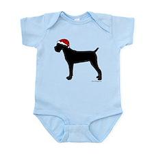 Cane Corso Santa Infant Bodysuit