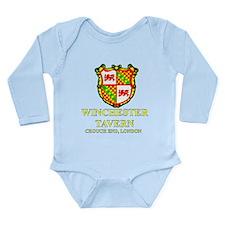 Cute Shaunofthedeadmovie Long Sleeve Infant Bodysuit