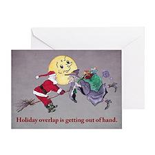 Halloween Overlap Greeting Card
