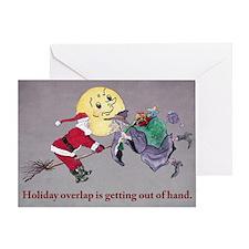 Christmas Overlap Greeting Card