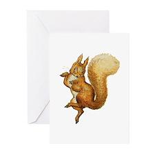 Squirrel Nutkin Greeting Cards (Pk of 20)