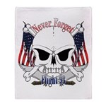 Flight 93 Throw Blanket