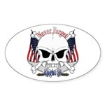 Flight 93 Sticker (Oval 10 pk)