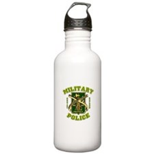 US Army Military Police Gold Water Bottle