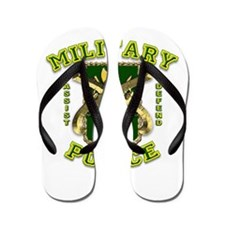 US Army Military Police Gold Flip Flops