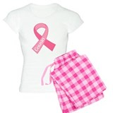 Cousin Breast Cancer Pink Ribbon pajamas
