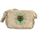 Flying Turtle Messenger Bag