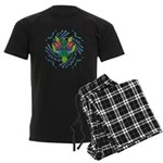 Flying Turtle Men's Dark Pajamas