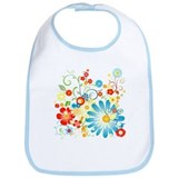 Floral explosion of color Bib