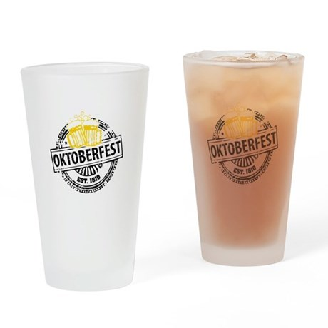 Oktoberfest Drinking Glass