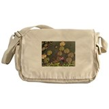 Lotus Pond Messenger Bag