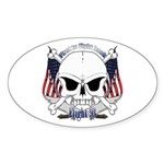 Flight 93 Sticker (Oval 50 pk)