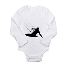 Kitesurfing Long Sleeve Infant Bodysuit