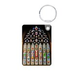 East Stained Glass Window Chr Aluminum Photo Keych