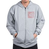 funny science joke Zip Hoody