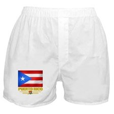 Flag of Puerto Rico Boxer Shorts