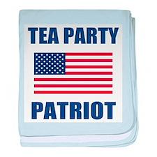 tea party patriot baby blanket