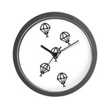'Skydive' Wall Clock
