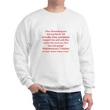 funny science joke Sweatshirt