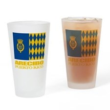 Arecibo Flag Drinking Glass