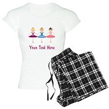 Ballerina Personalized Pajamas