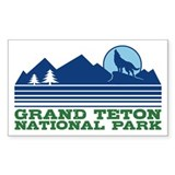 Grand Teton National Park Bumper Stickers