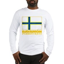 Bayamon Flag Long Sleeve T-Shirt