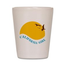 California Girl Shot Glass