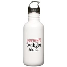 Certified Twilight Addict Water Bottle