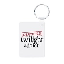 Certified Twilight Addict Keychains