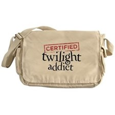 Certified Twilight Addict Messenger Bag