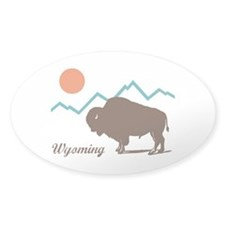 Wyoming Decal