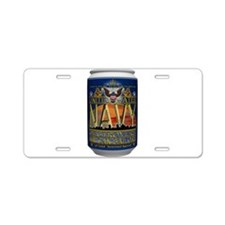 USN Blue Tin Can Sailor Aluminum License Plate