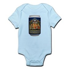 USN Blue Tin Can Sailor Infant Bodysuit