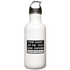 For Sale 63 Year Old Water Bottle