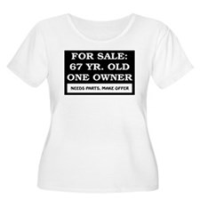 For Sale 67 Year Old T-Shirt
