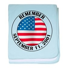 Remember 9-11 baby blanket