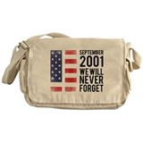 9 11 Remembering Messenger Bag