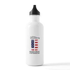 9 11 Remembering Water Bottle