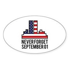 9 11 Never Forget Decal