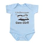 Undercover Cam Girl Infant Bodysuit