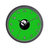 'Eight Ball' Wall Clock