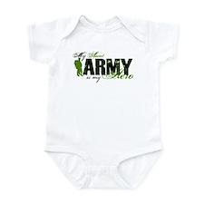 Aunt Hero3 - ARMY Infant Bodysuit