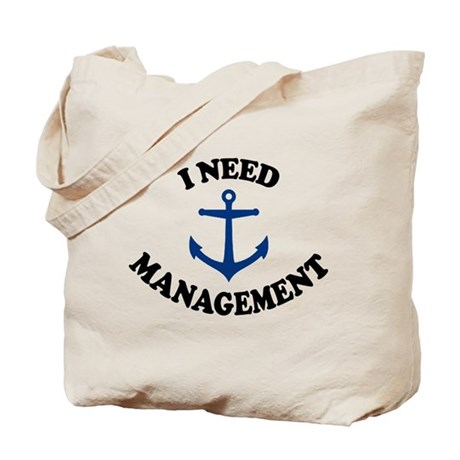 'Anchor Management' Tote Bag
