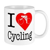 I Love Cycling  Tasse