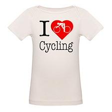 I Love Cycling Tee